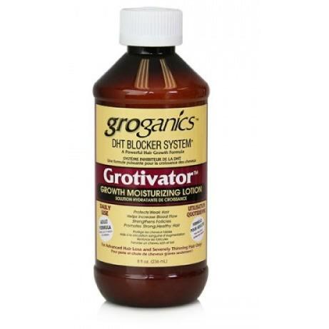 Groganics Dht Blocker System Grotivator Growth Moisturizing Lotion (8 Oz)