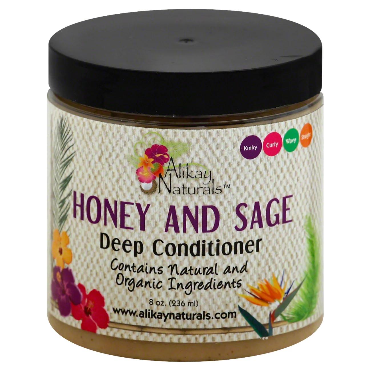 Alikay Naturals Honey and Sage Deep Conditioner 8oz