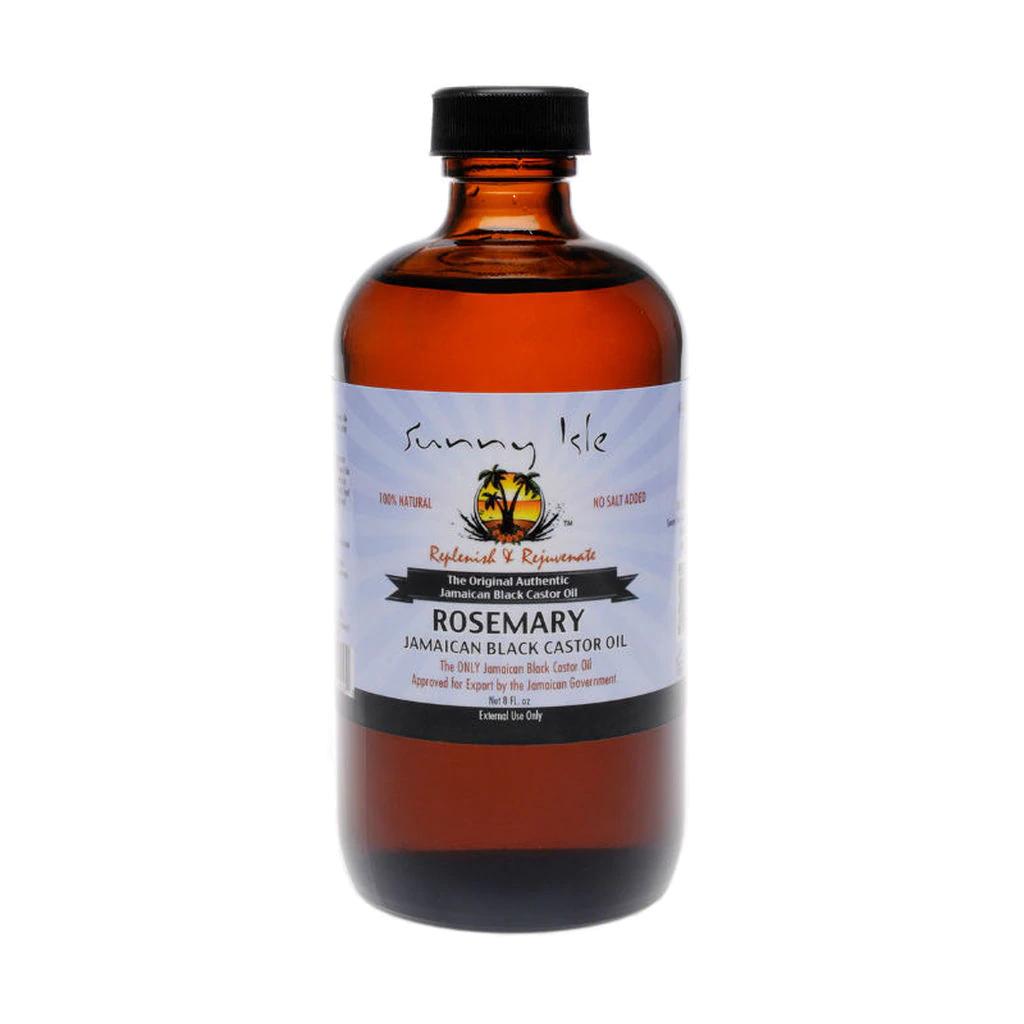 Sunny Isle Jamaican Black Castor Oil 8oz -Rosemary