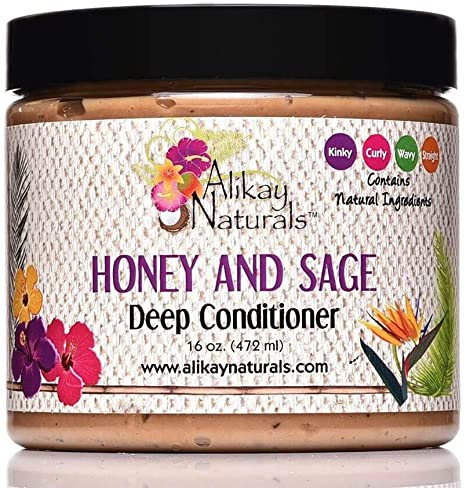 Alikay Naturals Honey and Sage Deep Conditioner 16oz