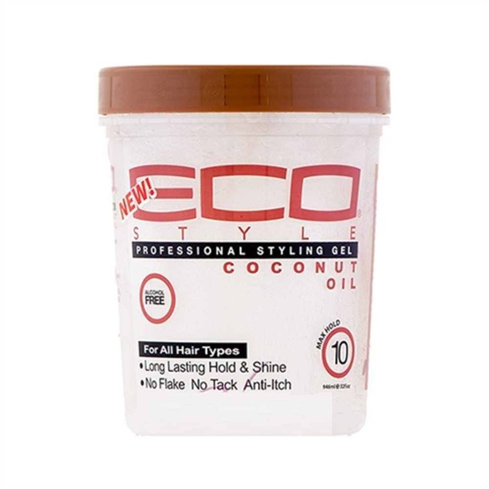 Eco Style Professional Styling Gel Coconut Oil 8oz