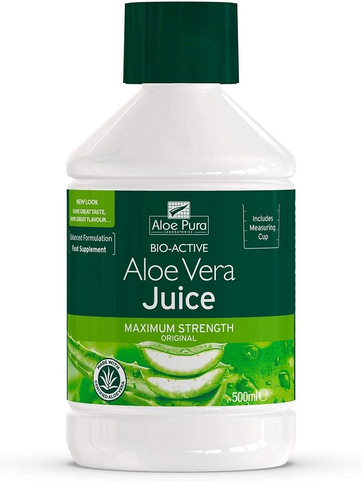 Aloe Pura Maximum Strength Aloe Vera Juice 500ml