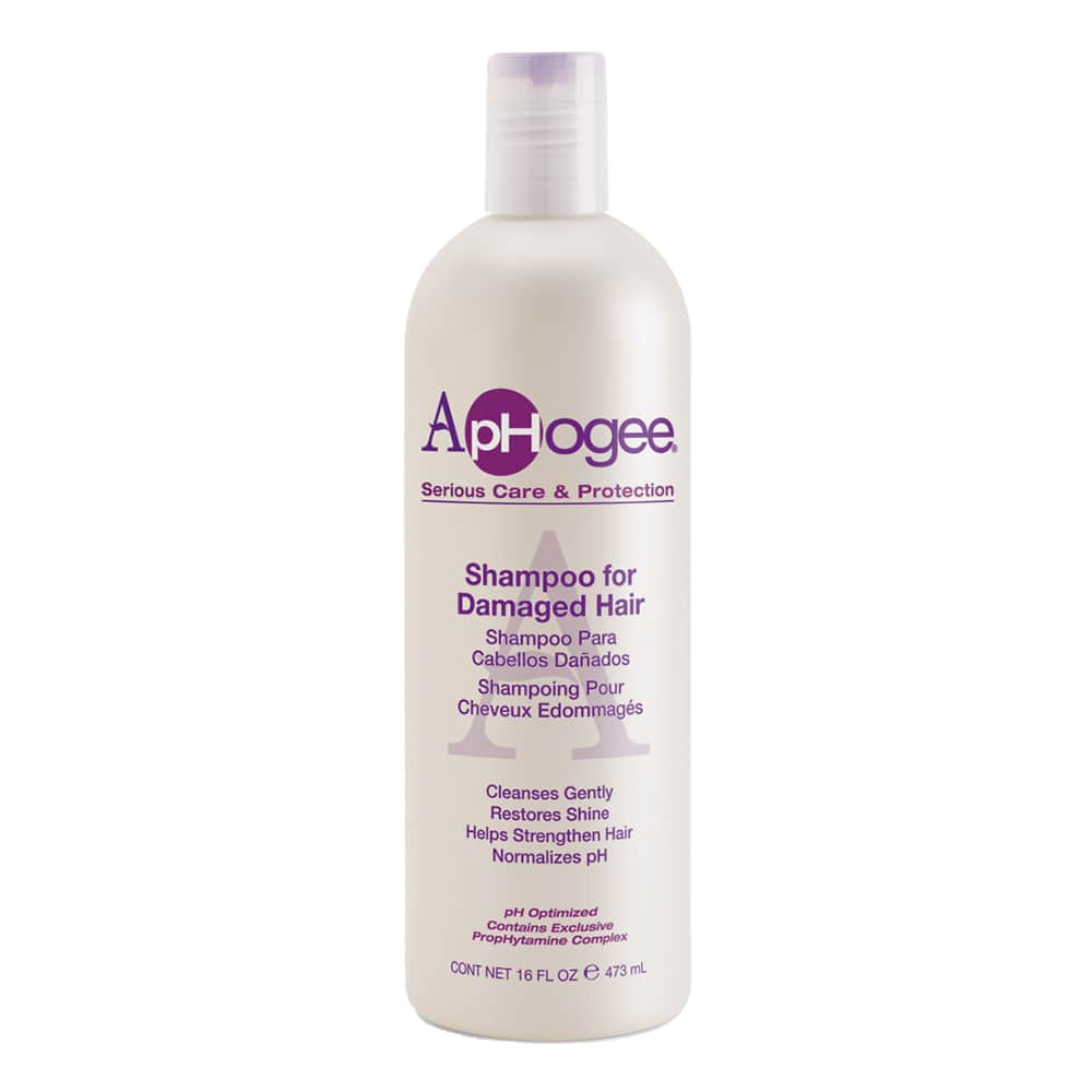 Aphogee Serious Care & Protection Shampoo for Damaged Hair 16oz
