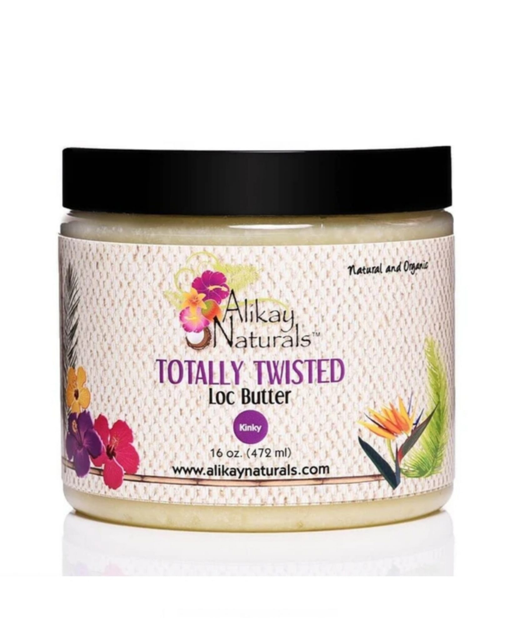 Alikay Naturals Totally Twisted Loc Butter 16oz
