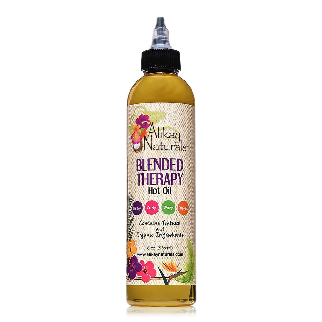 Alikay Naturals Blended Therapy Hot Oil 8oz