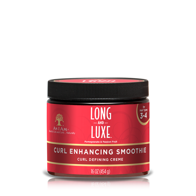 As i am Long & Luxe Curl Enhancing Smoothie curl defining creme 16oz