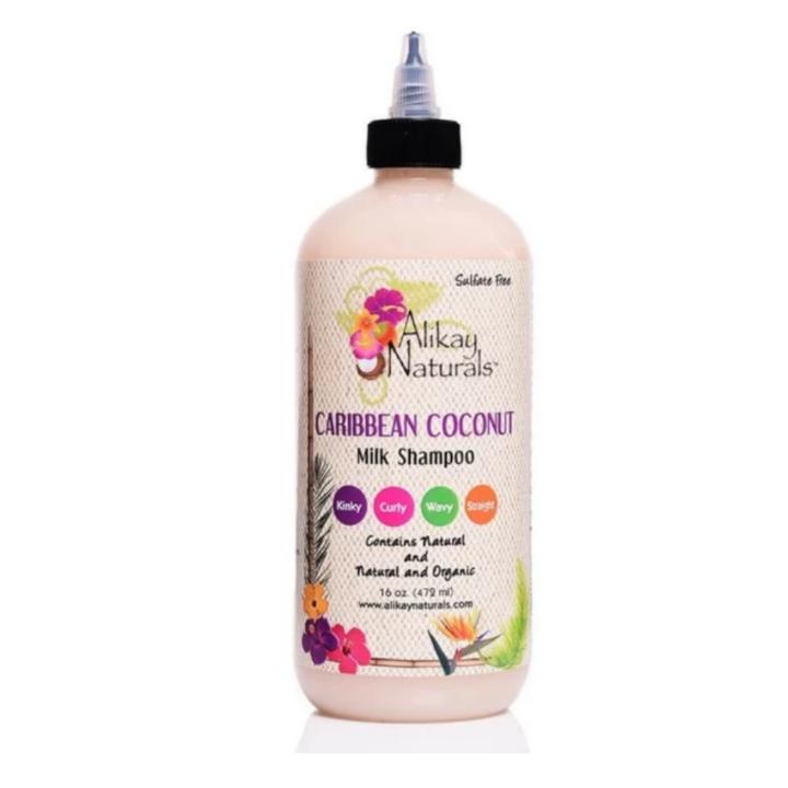 Alikay Naturals Caribbean Coconut Milk Shampoo 16oz