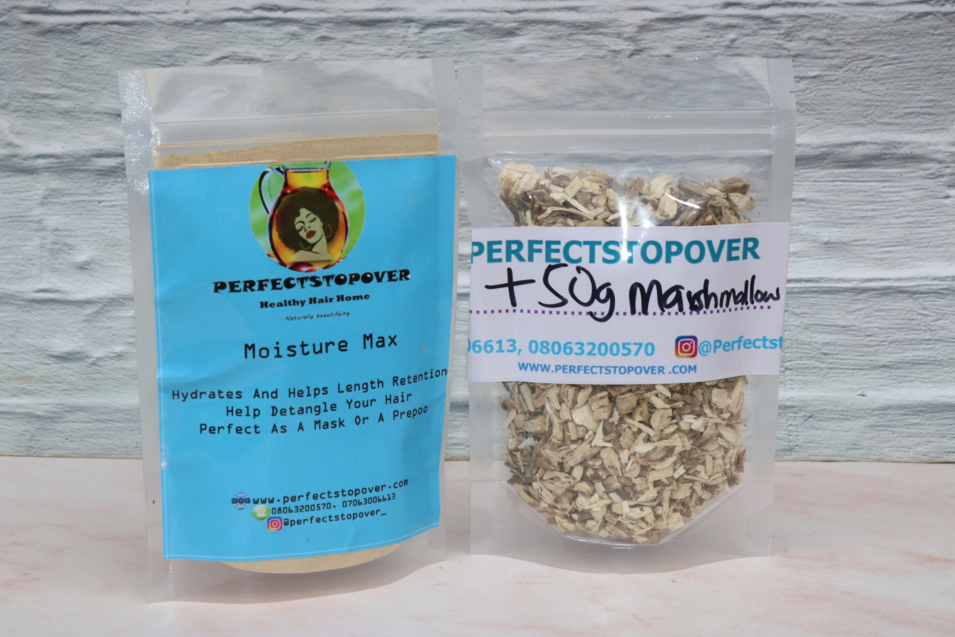 Perfectstopover MOISTURE MAX 3 IN MIX WITH MARSHMALLOW ROOTS