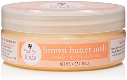 Camille rose kids brown butter melt mandarin oil hair balm