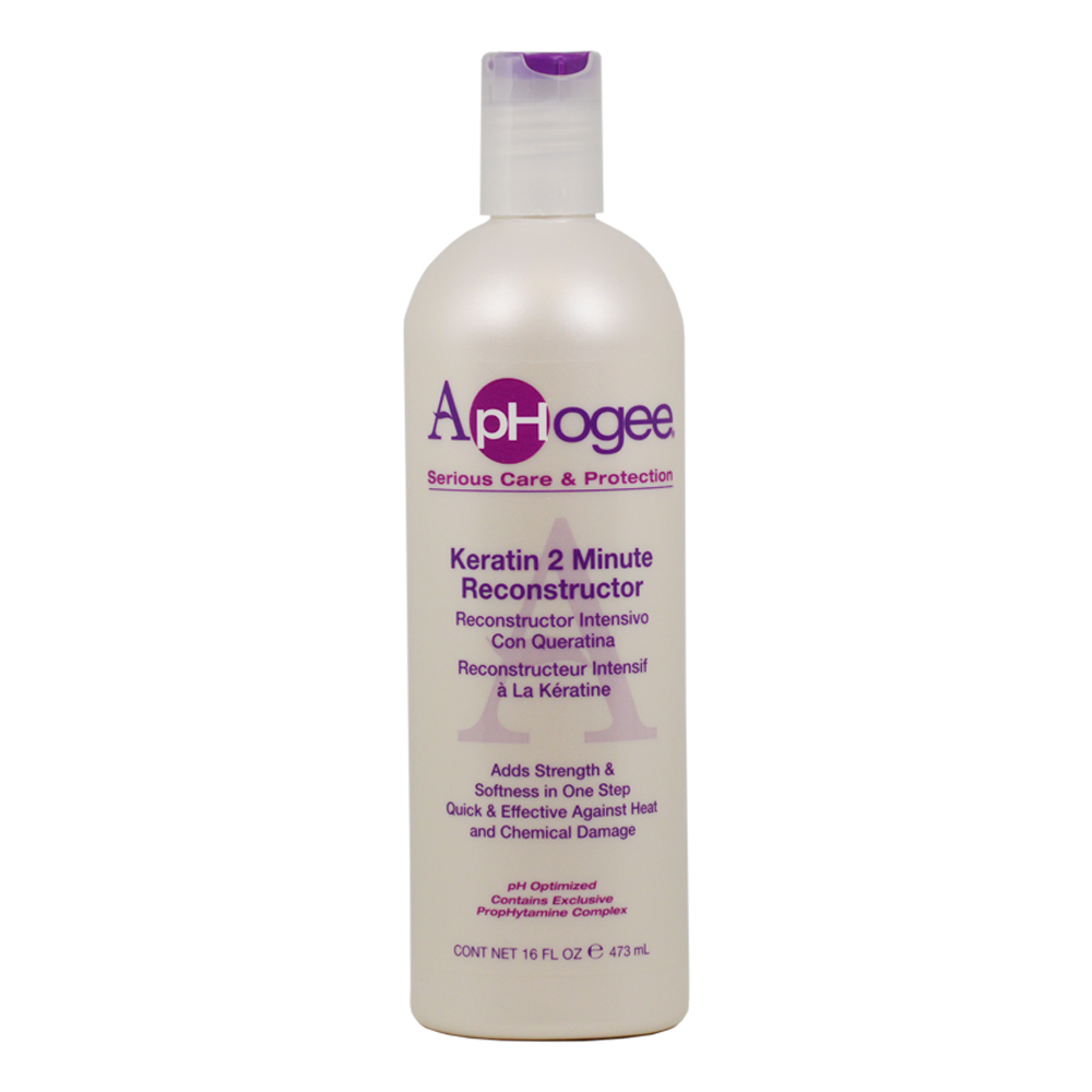 Aphogee Serious Care & Protection Keratin 2 minute Reconstructor 16oz