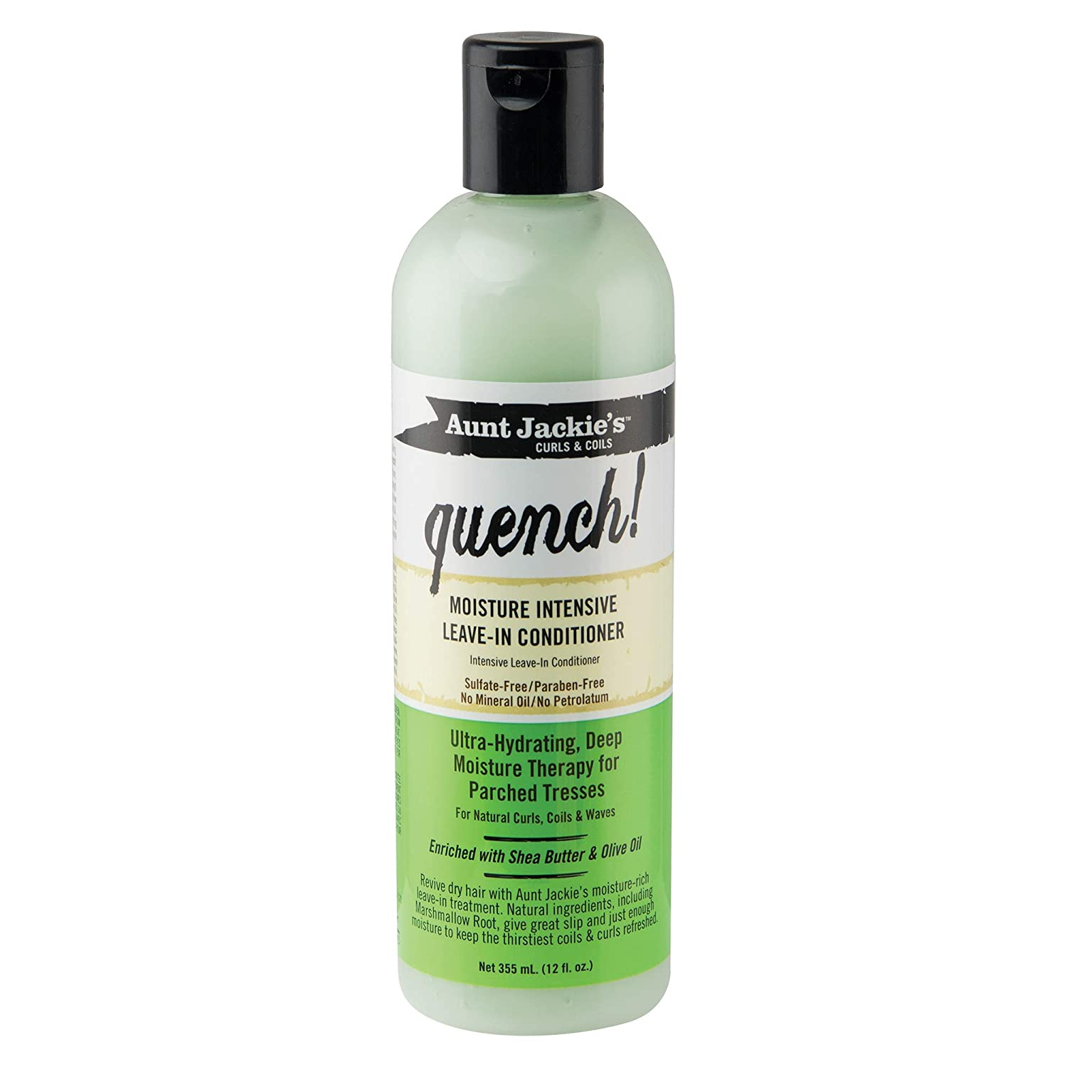 Aunt Jackie's curls and coils QUENCH moisture intensive leave in conditioner