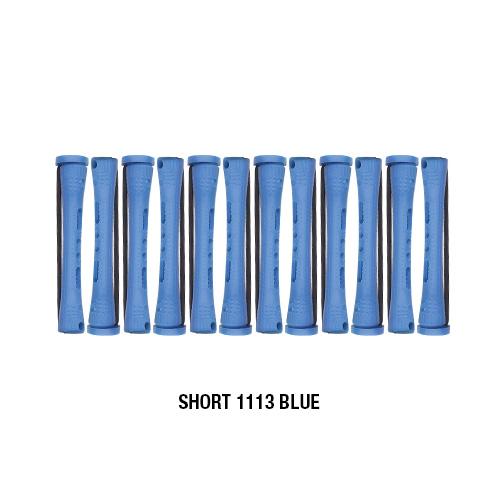 Annie cold waves perm rods 12pcs blue short