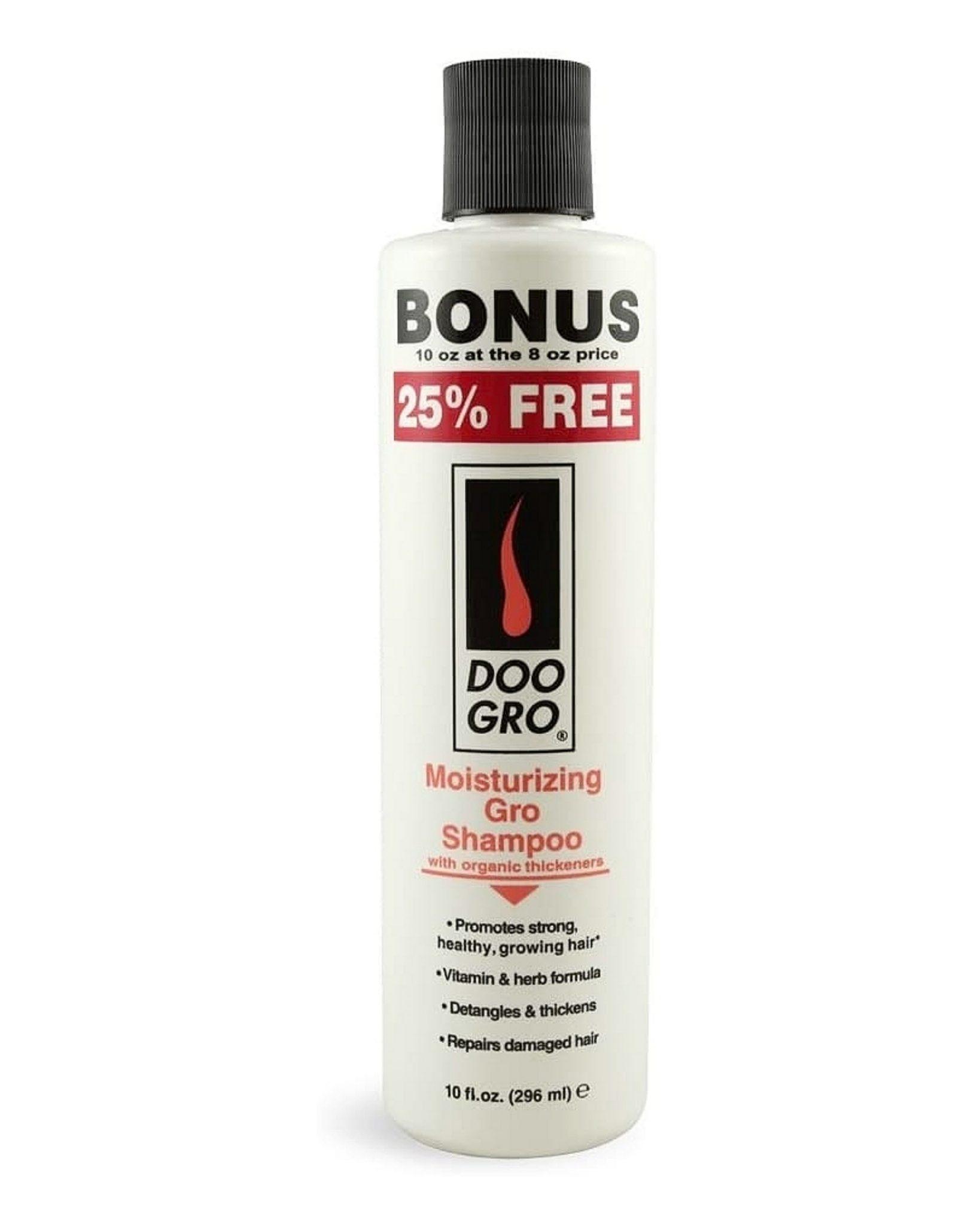 Doo Gro Moisturizing Gro Shampoo BONUS SIZE 10Oz