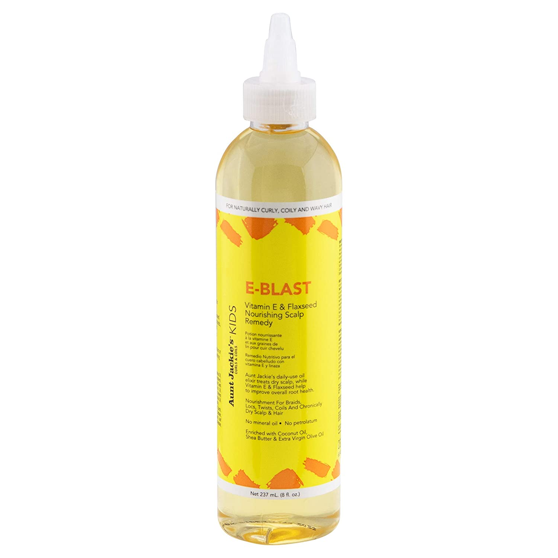 Aunt Jackie's curls & coils Kids E-BLAST vitamin E & flaxseed nourishing scalp remedy (8 oz.)