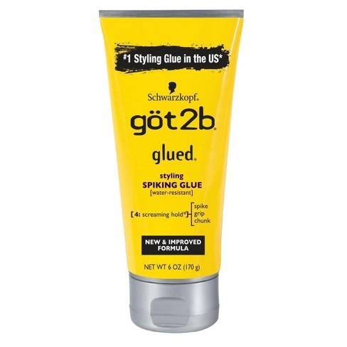 Schwarzkopf Got2b Glued Styling Spiking Glue – 6Oz