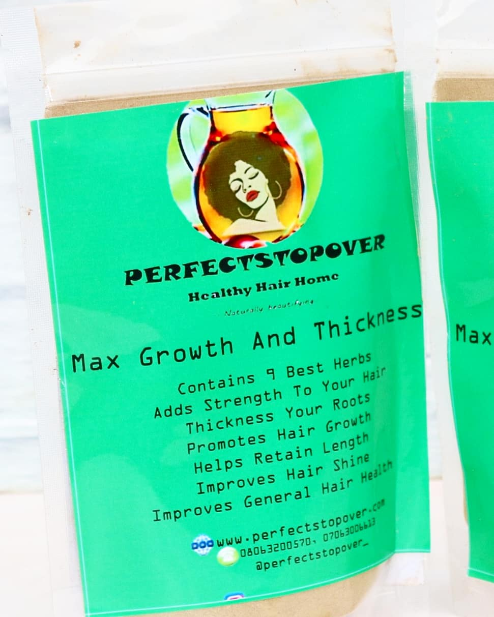 Perfectstopover MAX growth and thickness Ayuverda mix