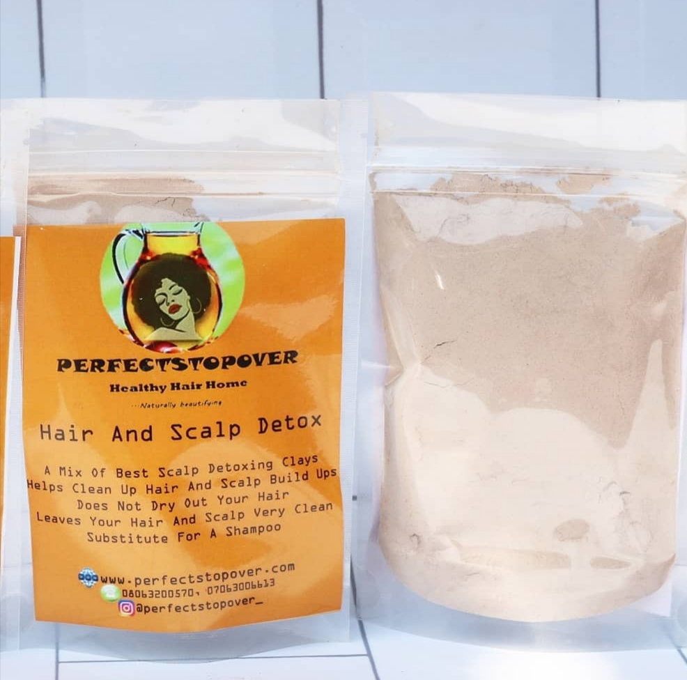 Perfectstopover Healthy hair and scalp detox mix