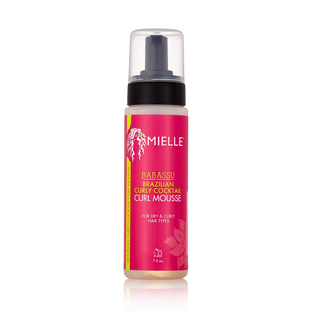 Mielle Organics babassu curly cocktail curl mousse