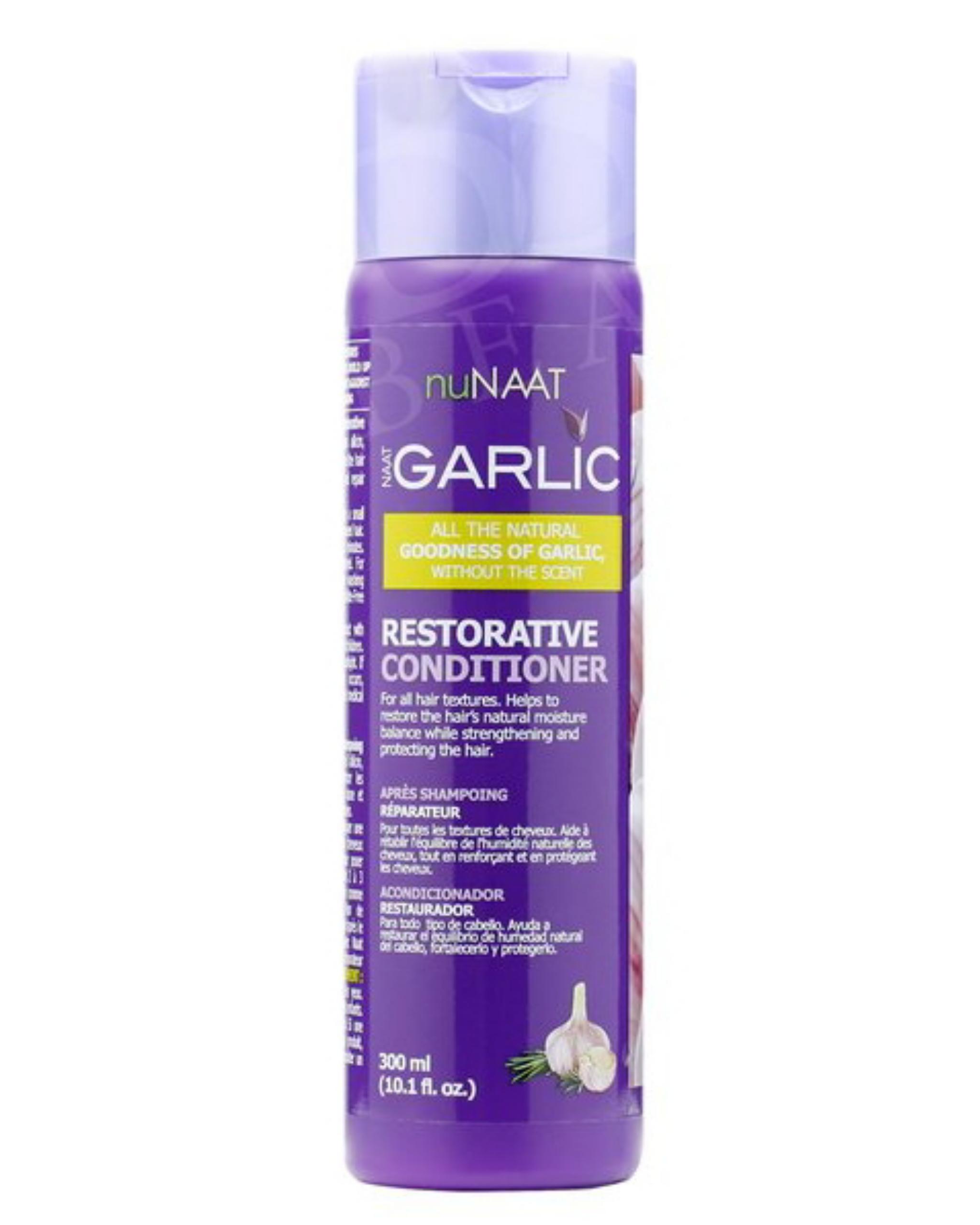 Nunaat Garlic Restorative Conditioner 10.1oz