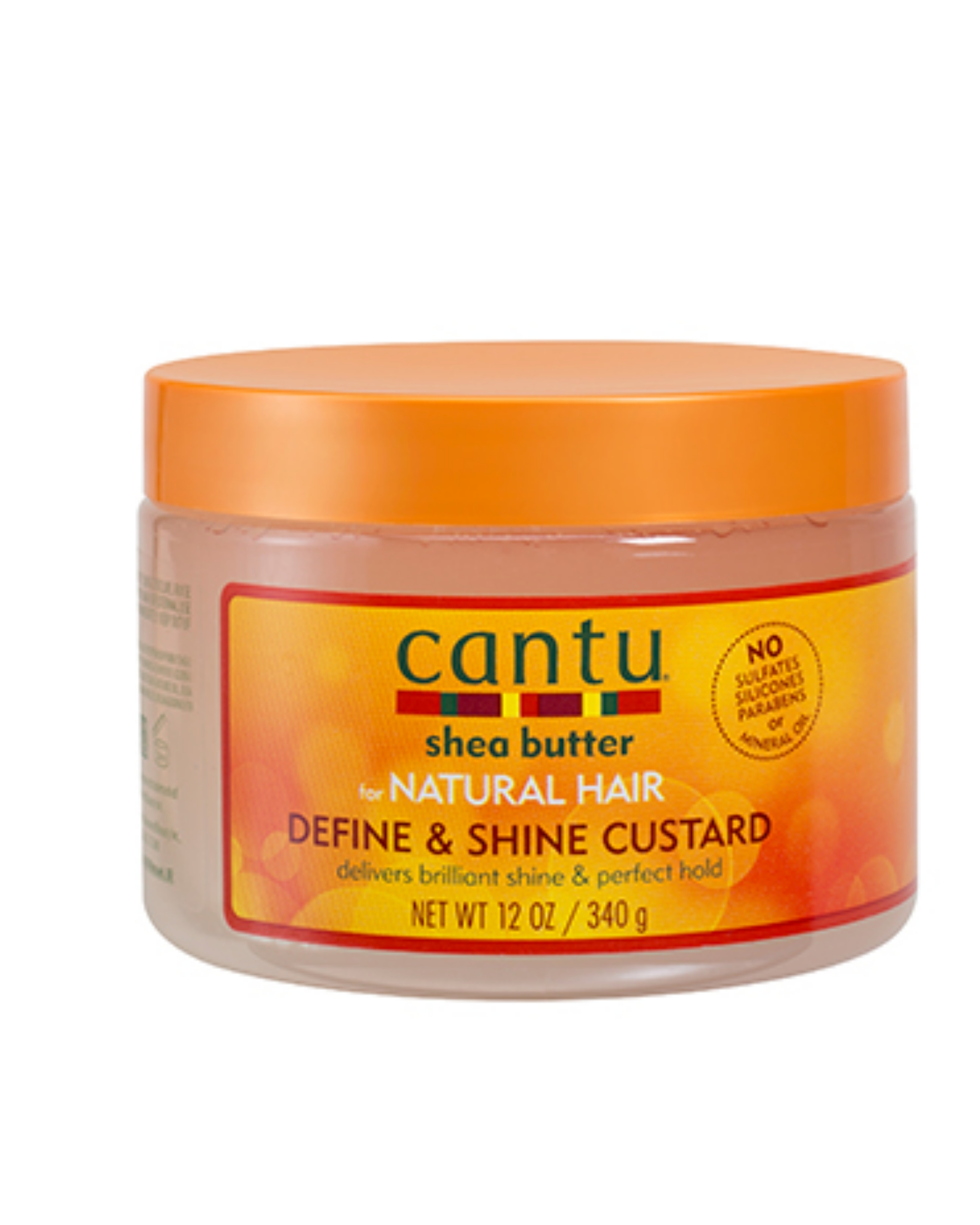 Cantu Shea Butter for Natural Hair Define & Shine Custard 12oz