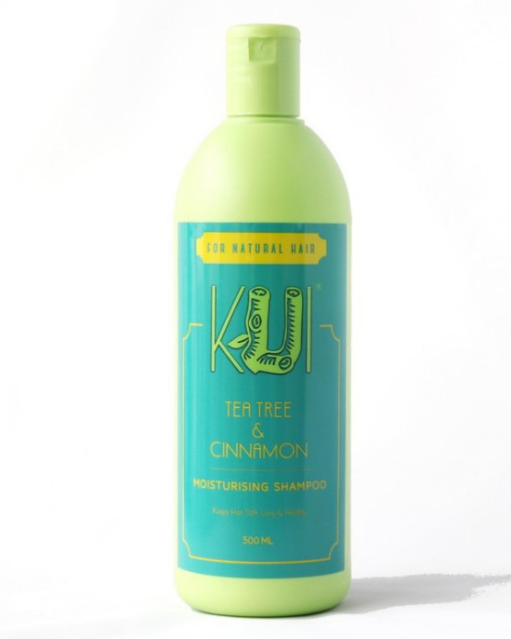 Kui Tea Tree & Cinnamon Moisturising Shampoo