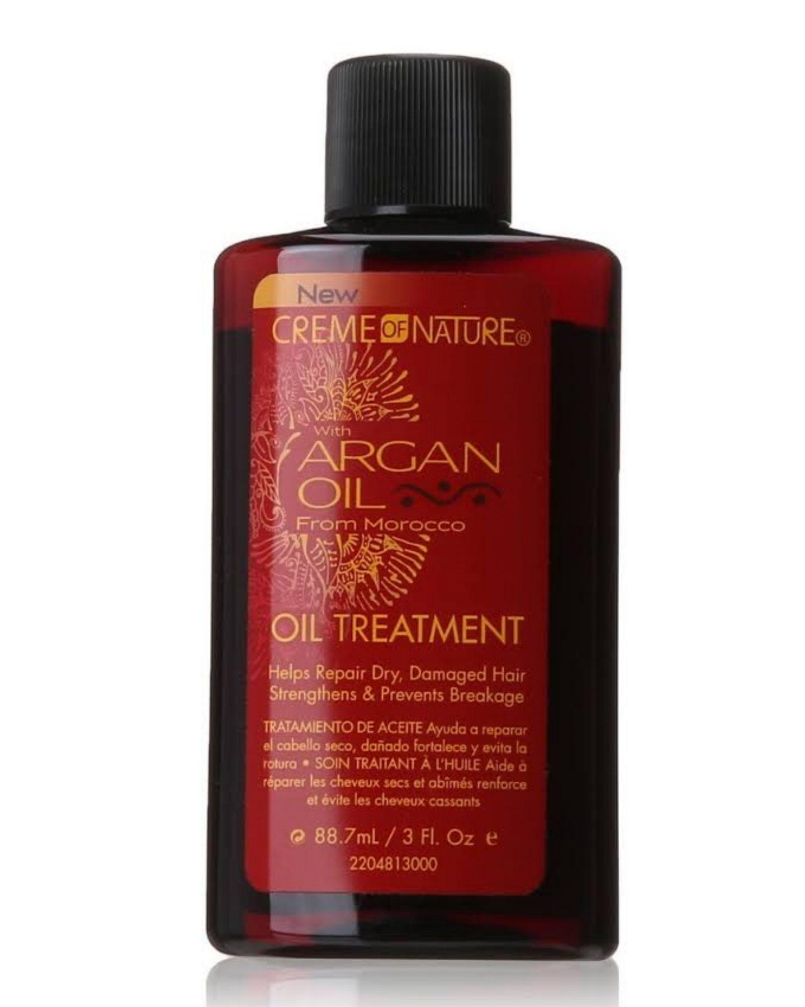 Creme of Nature Argan Oil Oil Treatment-3 oz