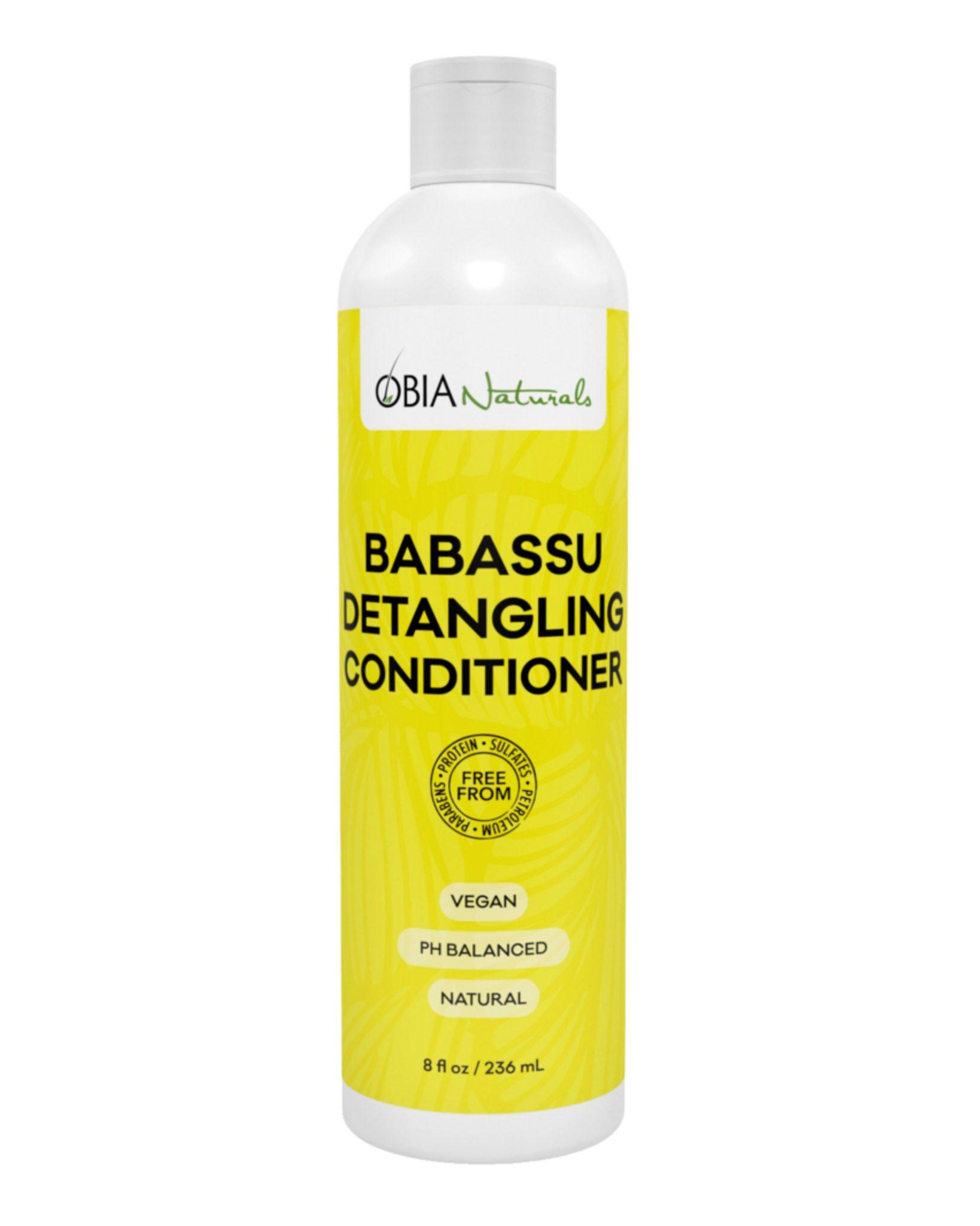 OBIA Naturals Babassu Detangling Conditioner 8Oz
