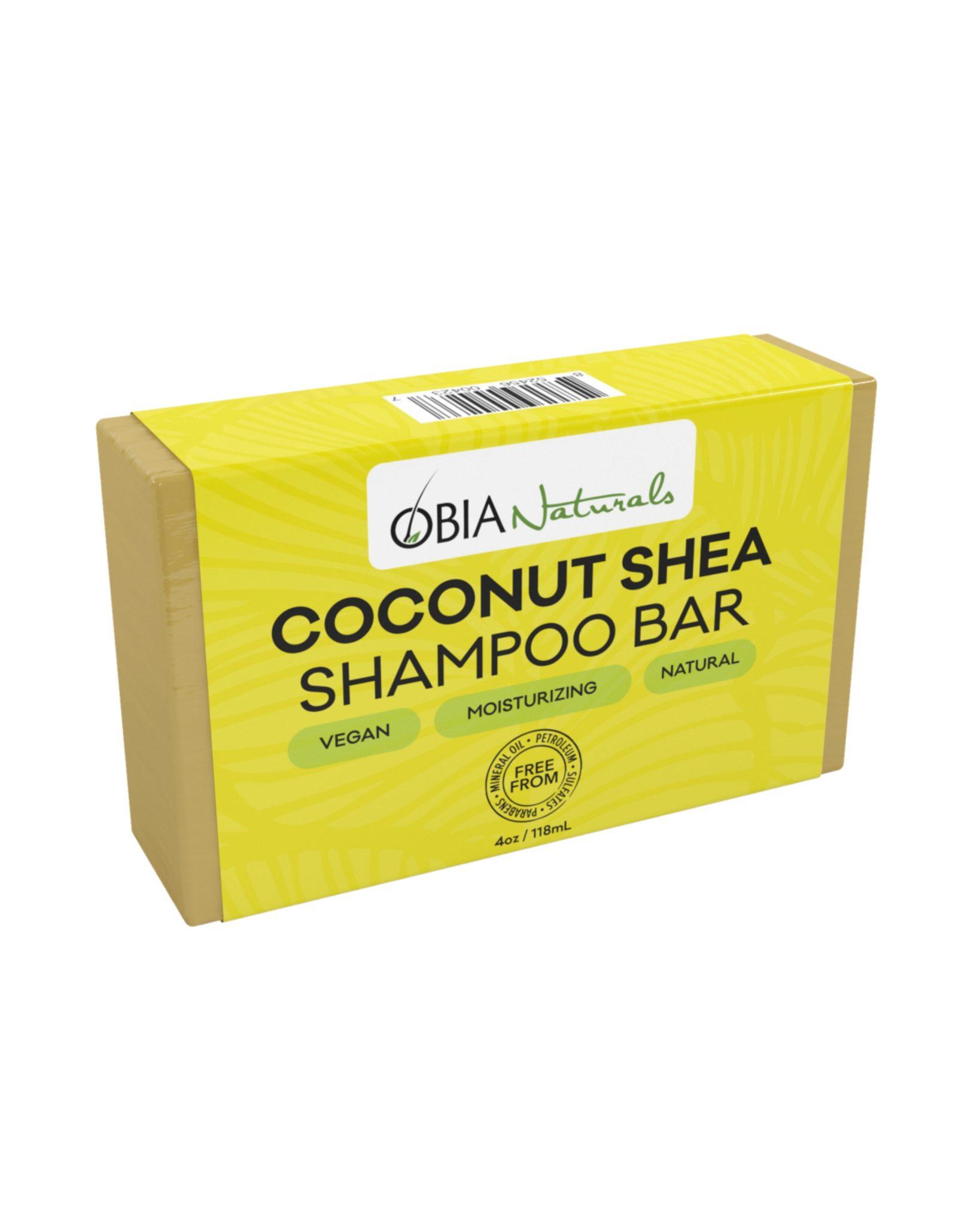 OBIA Naturals Coconut Shea Shampoo Bar 4Oz