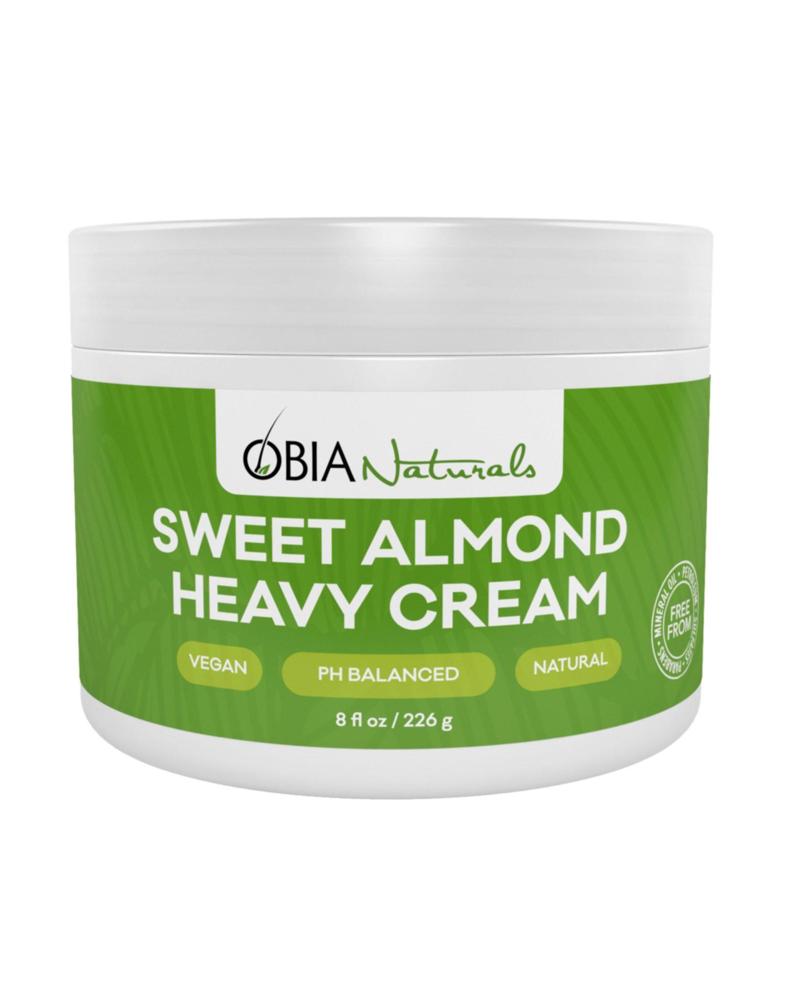 OBIA Naturals Sweet Almond Heavy Cream