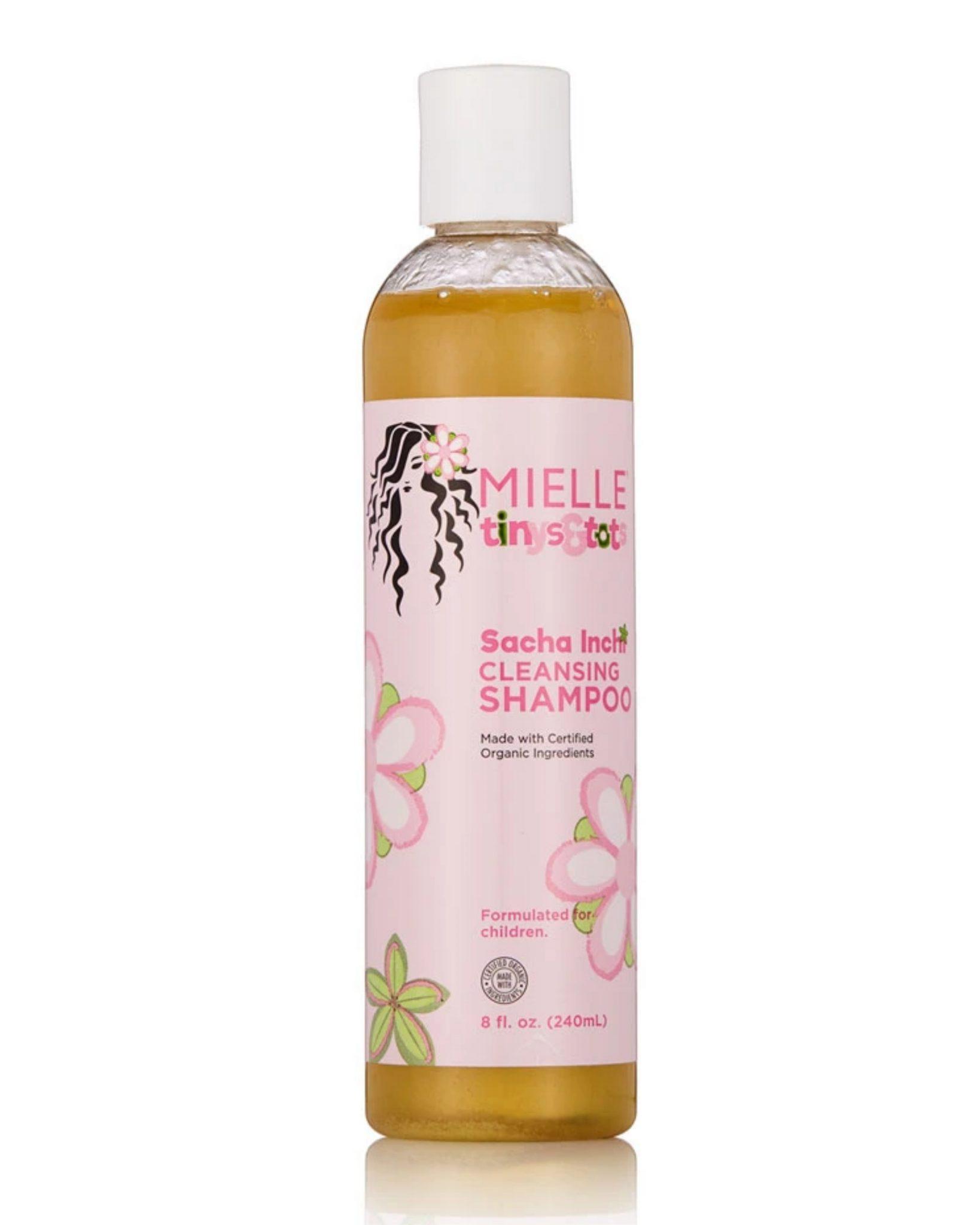 Mielle Organics tinys and tots  sacha inchi cleansing shampoo