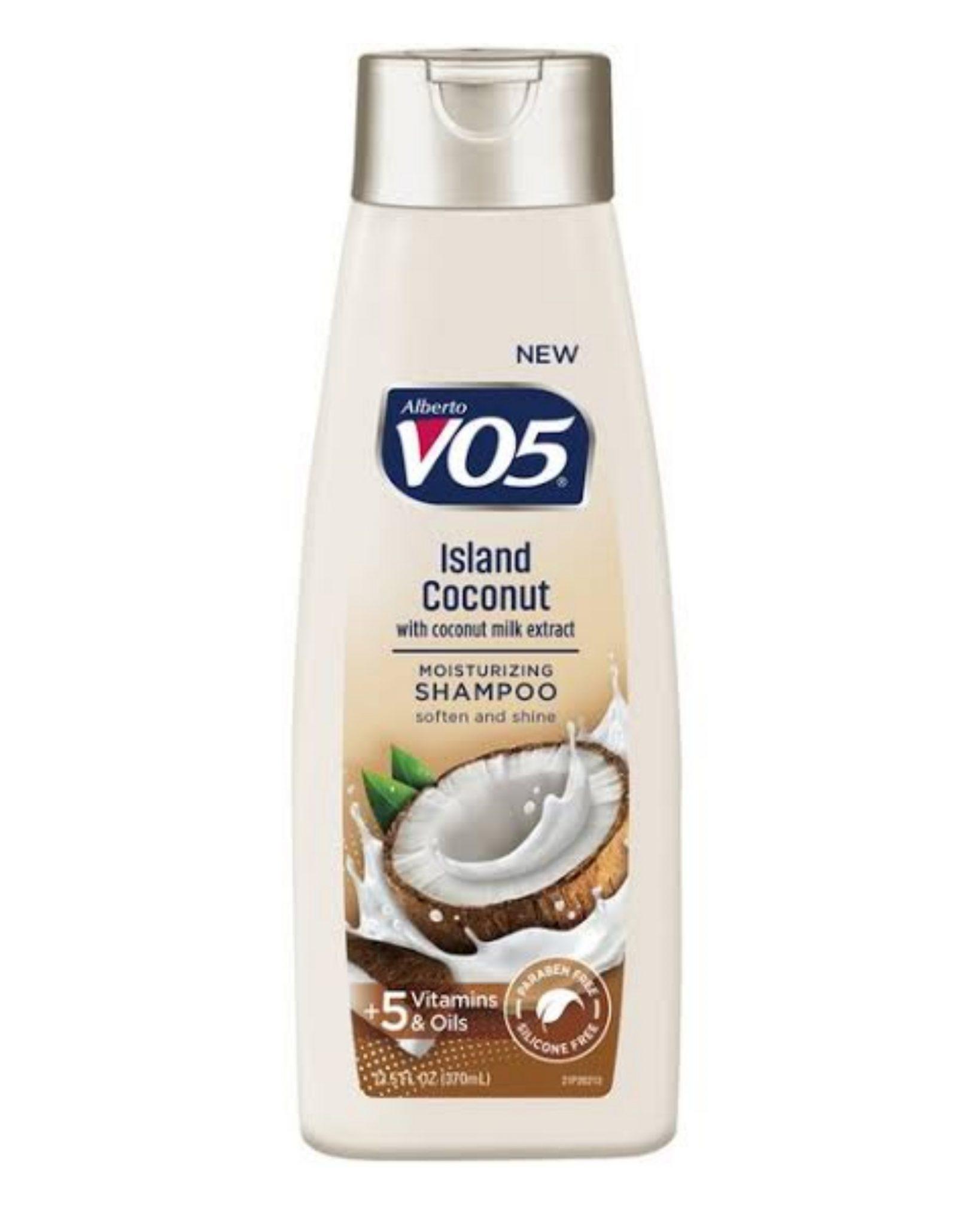 Alberto VO5 Island Coconut Moisturizing Shampoo 12.5Oz