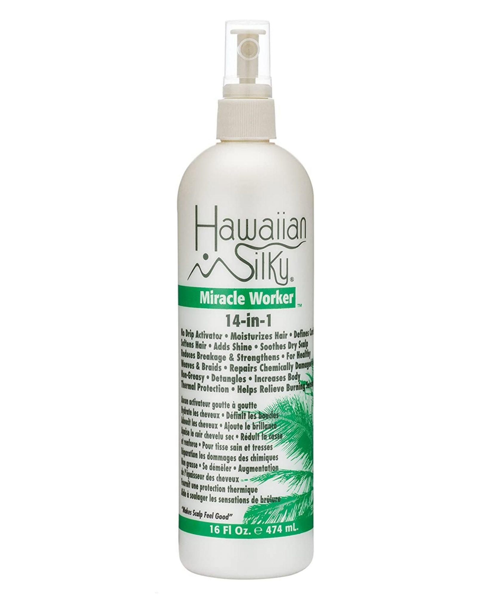 Hawaiian Silky 14-in-1 Miracle Worker Activator & Moisturizer 16Oz