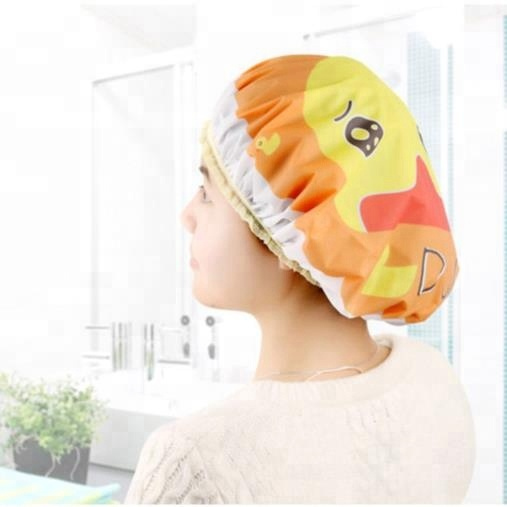 Duck-character Shower cap