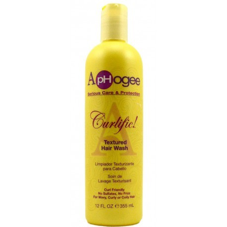 Aphogee Serious Care & Protection Curlific Textured Hair Wash 8oz