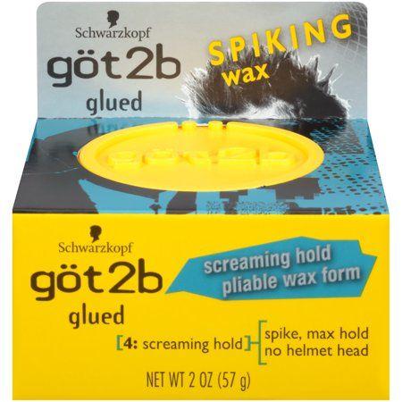 Schwarzkopf Got2b Glued Spiking Wax 2oz