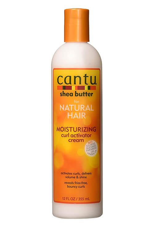 Cantu Shea Butter for Natural Hair Moisturizing Curl Activator Cream 12oz