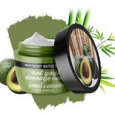 Aunt Jackie's curls & coils butter fusions NOT YOUR AVERAGE CURL – Bamboo & Avocado Protein Masque