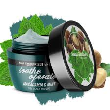 Aunt Jackie's curls & coils butter fusionsSOOTHE OPERATOR – Macadamia & Mint Dry Scalp Conditioning Masque