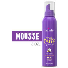 Aussie miracle curls mousse