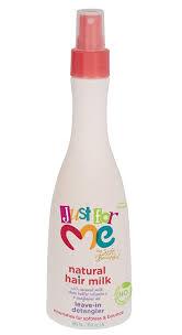 Just for me  natural hair milk leave-in detangler