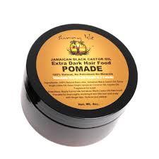 Sunny isle  jamaican black castor oil extra dark hair food pomade