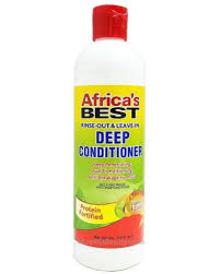 Africa's Best rinse-out & leave-in deep conditioner