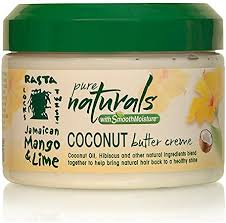 Jamaican mango & lime pure naturals with smooth  coconut butter cream