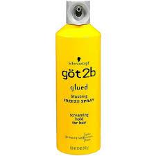 Schwarzkopf Got2b Glued Blasting Freeze Hairspray, 12 Ounce