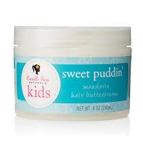 Camille rose naturals kids sweet puddin mandarin hair buttercream