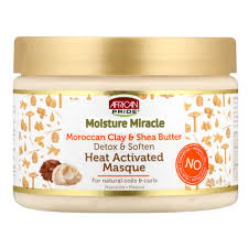 African pride moisture miracle heat activated masque
