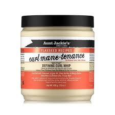 Aunt Jackie's curls & coils flaxseed recipes CURL MANE TENANCE defining curl whip (15 oz.)