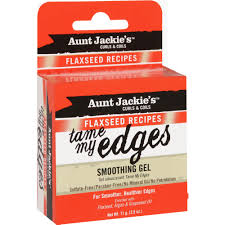 Aunt Jackie's curls & coils flaxseed recipes TAME MY EDGES smoothing Gel (2.5 oz.)