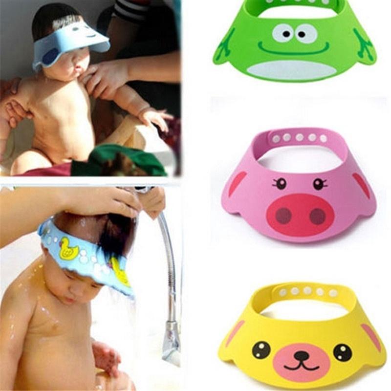 Baby wash cap