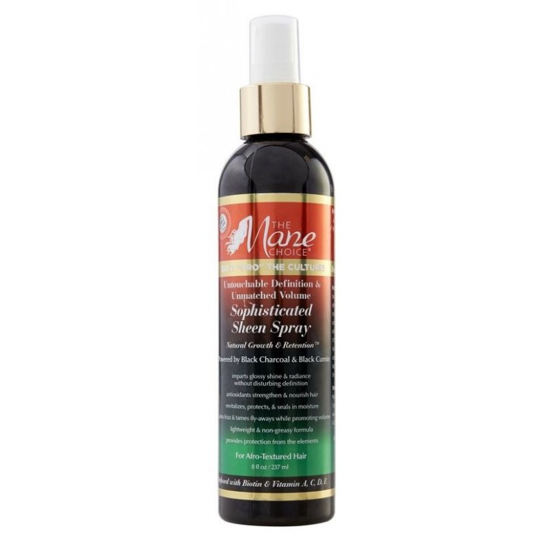 """Do It 'FRO"""" The Culture Sophisticated Sheen Spray"""
